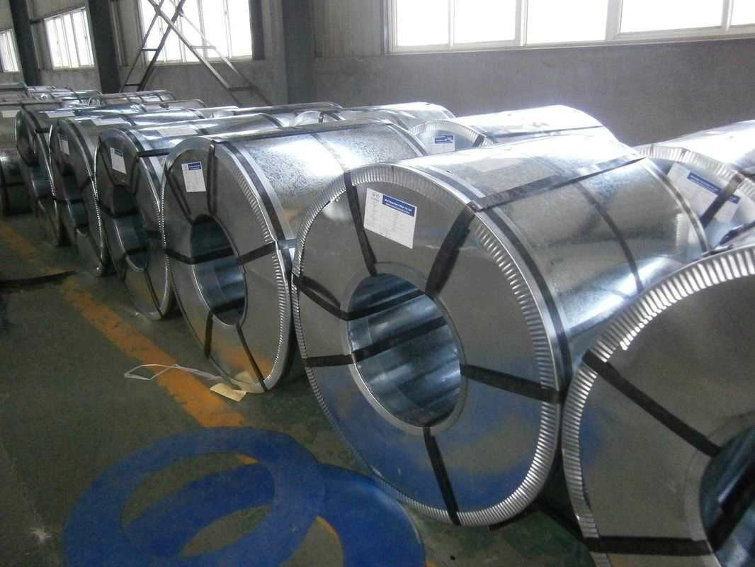 Soft HDGI Big Spangle Surface Hot Dipped Galvanized Steel Coils