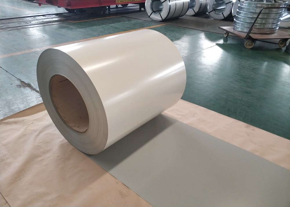 DX51D 0.3 Thickness Color Coated Steel For Roof Prepainted Color Steel Coils