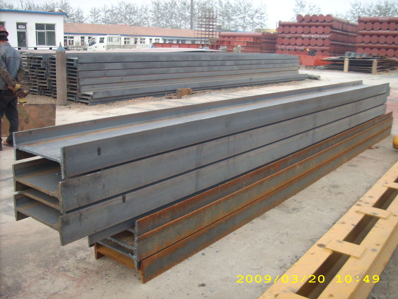 GB700 Q235B, Q345B, JIS G3101 SS400 Steel I Beam of Mild Steel Products