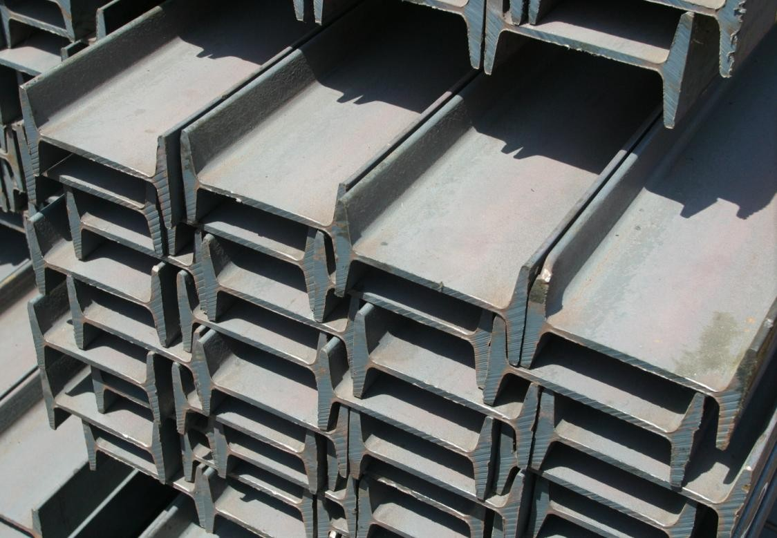 Mild Steel Products Steel I Beam With JIS G3101 SS400, ASTM A36, EN 10025