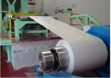 China 40 - 275 g/zinco de m2 revestimento 700 - 1250mm largura EN 10169 DX51D + Z cor Coated Steel Coil distribuidor